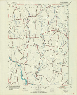 Scotland Quadrangle 1953 - USGS Topographic Map 1:24,000 | by uconnlibrariesmagic