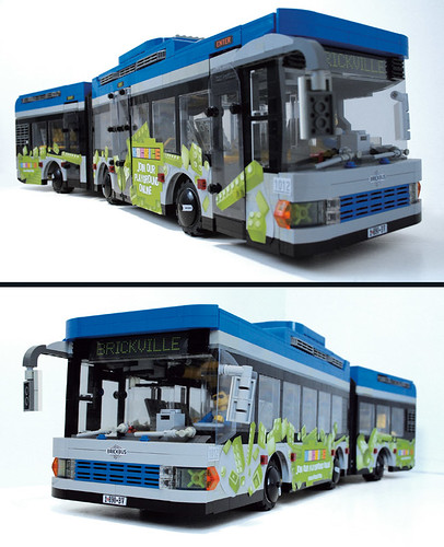 1-Lego-Articulated-Bus | by Veeborg