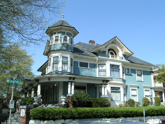 The gustav freiwald house ne portland irvington neighbo for Victorian colonial homes