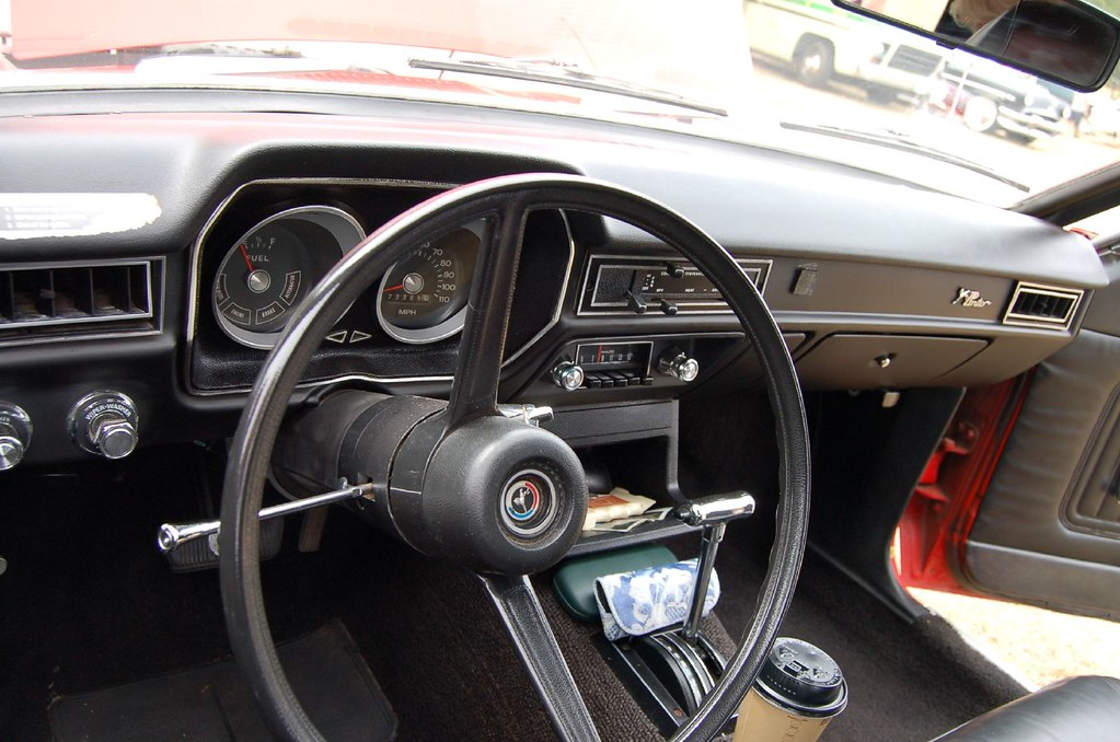1974 Ford Pinto Interior Taken During The 2007 Quot Red