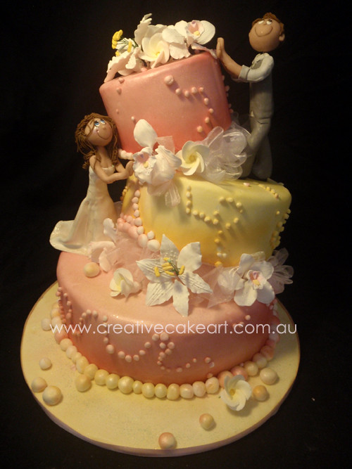 Cake Art Zeitung : WEDDING CAKES CREATIVE CAKE ART (35) sarah cowell Flickr