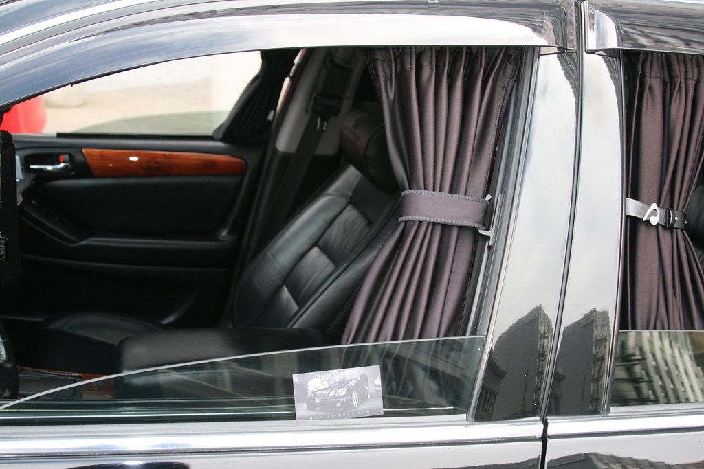 car interior with curtains flickr. Black Bedroom Furniture Sets. Home Design Ideas