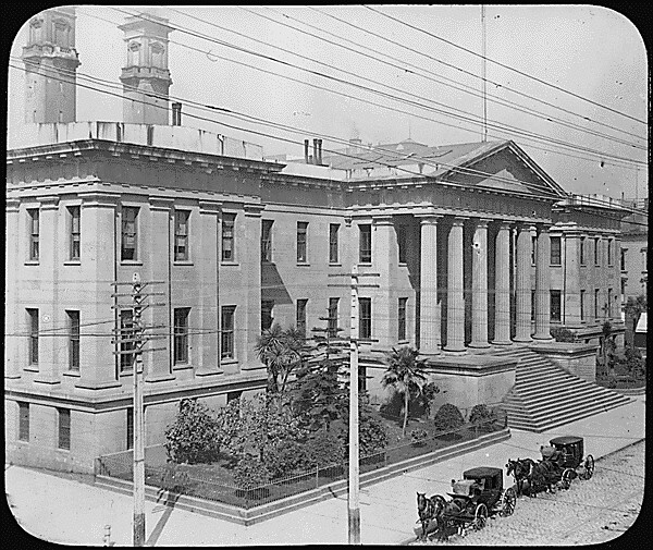 Photograph Of The San Francisco Mint Ca 1900 Original