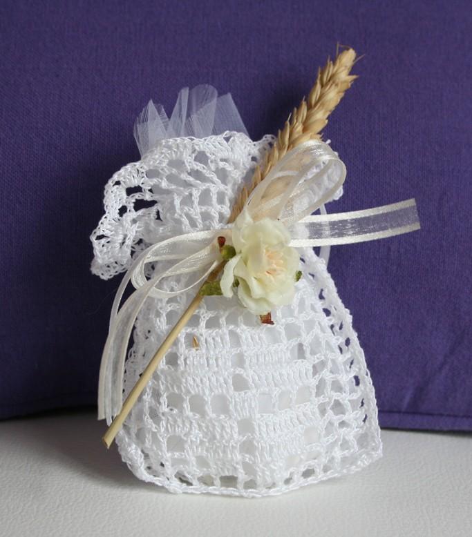 abbastanza sacchetto portaconfetti uncinetto con spiga | Ecco una serie… | Flickr JY79
