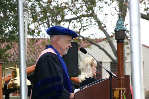 Ted Lucas speaking at Commencement | by California State University Channel Islands