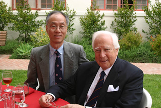 Author David McCullough and History Professor Huang at President's Circle | by California State University Channel Islands