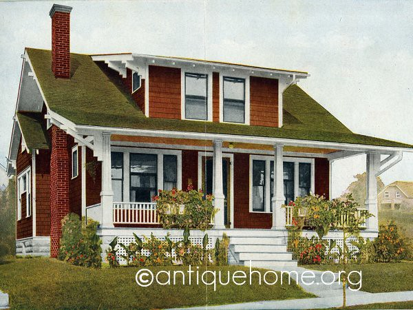 Aladdin bungalow kit house the marsden 1916 aladdin for Catalog houses