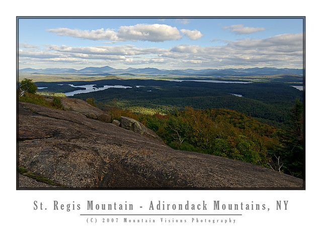 View East From St  Regis Mountain   for more www mountainvis