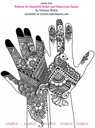 Mehndi Designs For Hands Ebook Free Download : Sample henna designs from patterns for beautiful brides