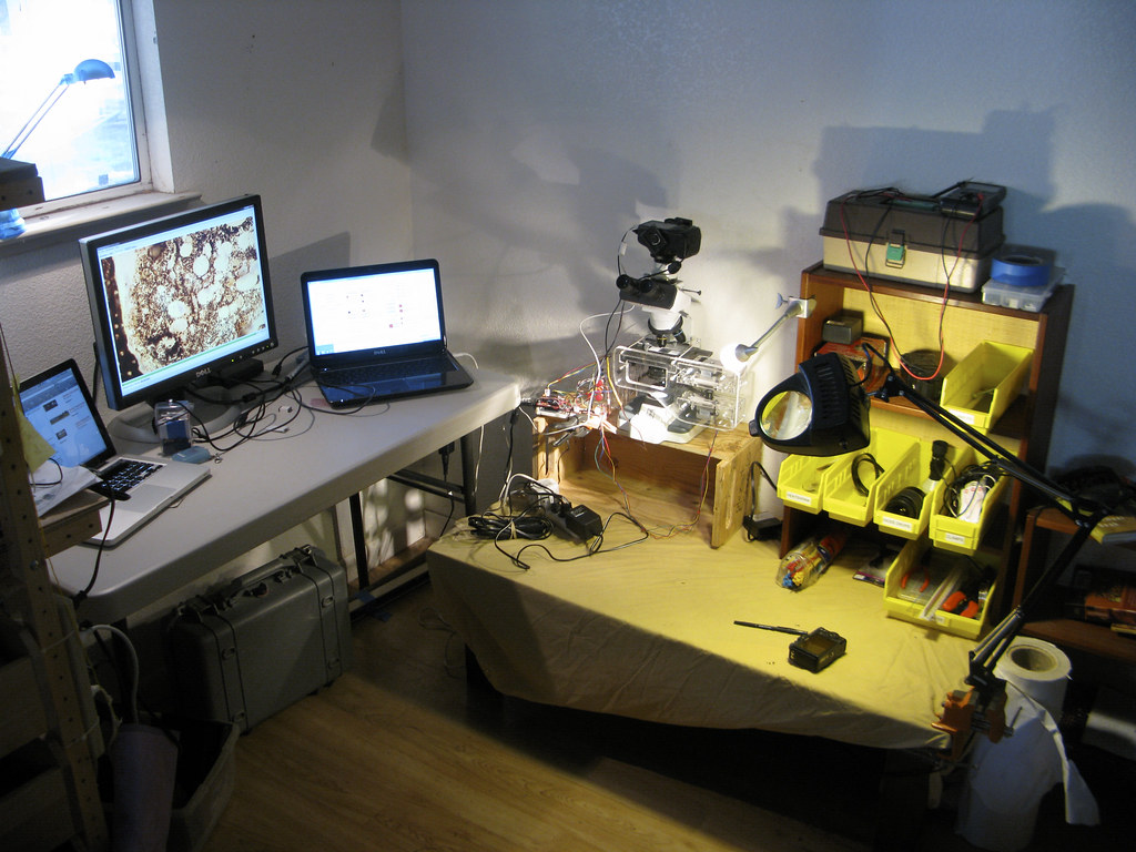 A home microscopy lab not just a home microscopy lab for Lab homes