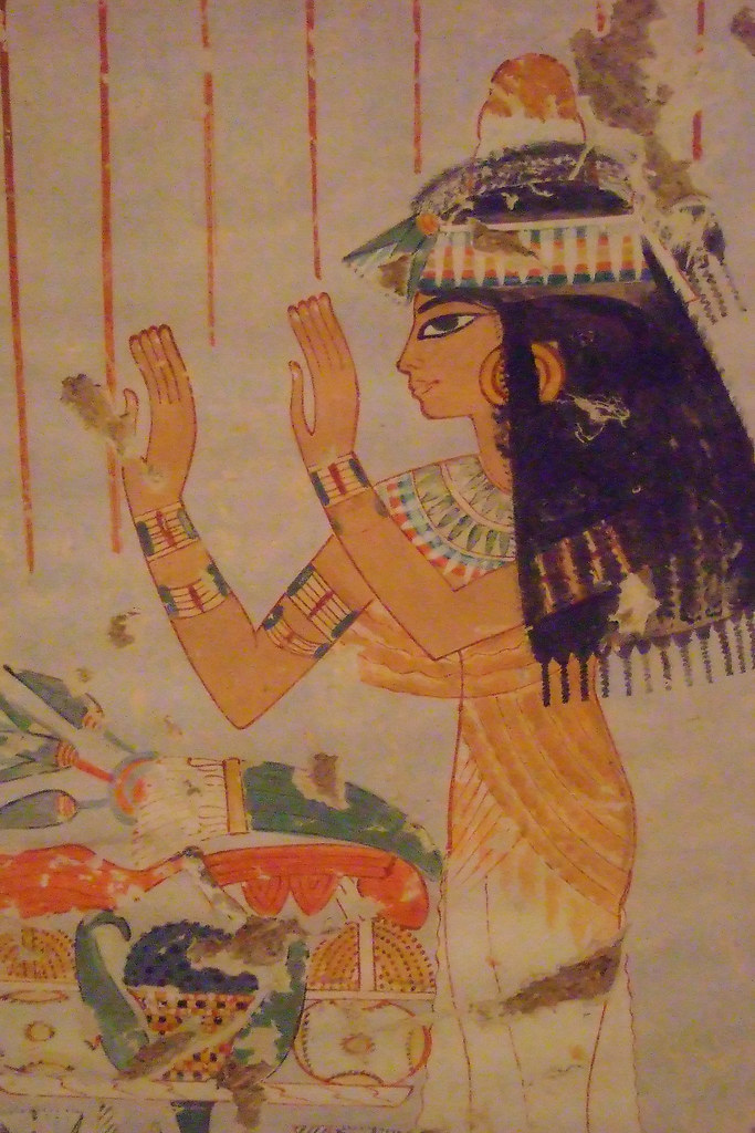 Ancient egyptian murals at the metropolitan museum of art for Egyptian mural art
