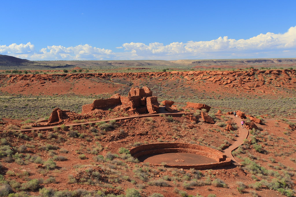 Wupatki Ruins near Flagstaff Arizona Wupatki Ruins near F Flickr
