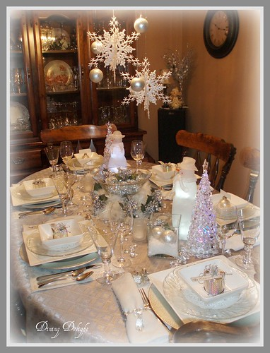 Winter Christmas Tablescape Flickr Photo Sharing