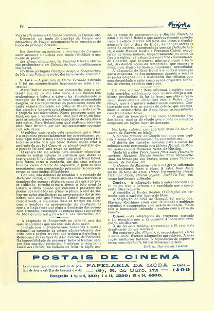 Cinéfilo, No. 73, January 11 1930 - 17
