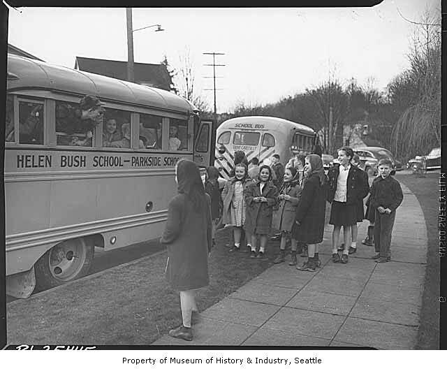 Taylor School Bus Mercedes Engine