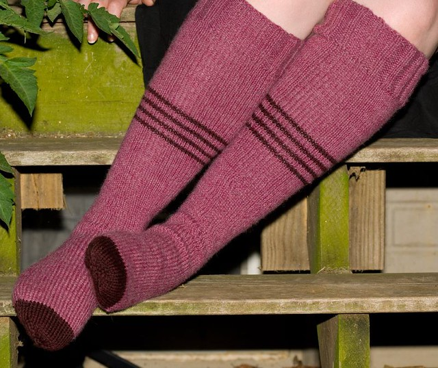 Canyon Hiking Socks Blogged Here Pattern: