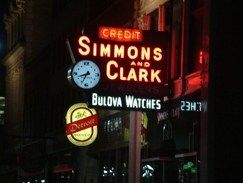 Simmons and Clark Jeweler in Downtown Detroit | by DetroitDerek Photography ( ALL RIGHTS RESERVED )