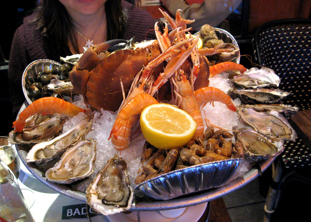 Paris Le Suffren Seafood Platter For My Birthday