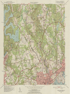 Glenville Quadrangle 1951 - USGS Topographic 1:24,000 | by uconnlibrariesmagic