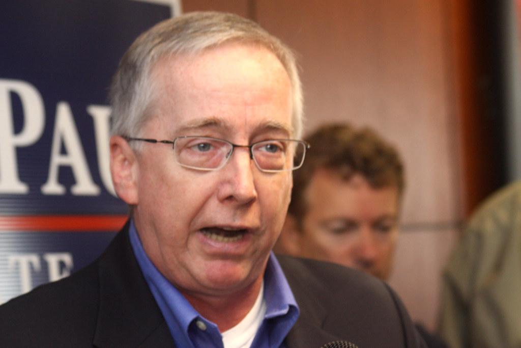 Geoff Davis | Congressman Geoff Davis speaking at ...