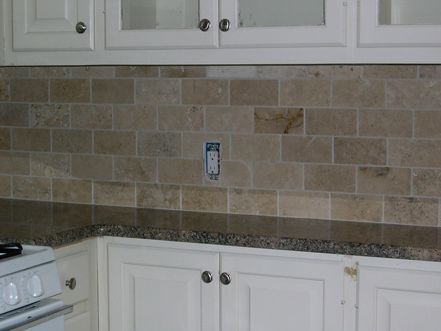 Travertine Backsplash 3 Quot X6 Quot Honed Durango Classic
