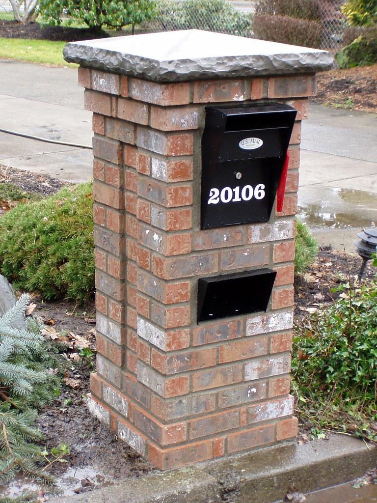 1 Brick Mailbox Baker Masonry Llc 503 539 6792 Brick Ma Flickr