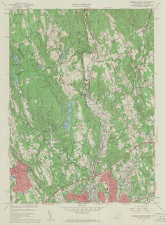 Norwalk North Quadrangle 1960 - USGS Topographic Map 1:24,000 | by uconnlibrariesmagic