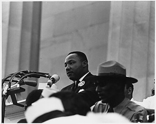 Civil Rights March on Washington, D.C. [Dr. Martin Luther King, Jr. speaking.], 08/28/1963. | by The U.S. National Archives