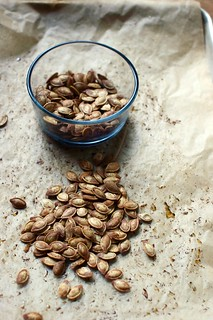roasted pumpkin seeds | by shauna | glutenfreegirl