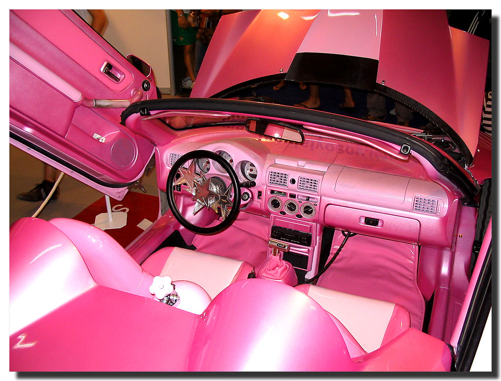 barbie 39 s car el coche de barbie sal internacional de flickr. Black Bedroom Furniture Sets. Home Design Ideas