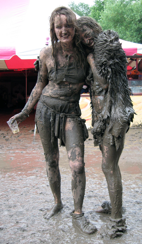 Muddy Girls Dirty Girls At Glastonbury 2007  Not Sure -6862