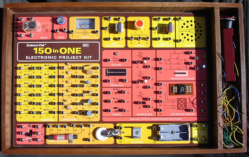 """Radio Shack 150 in 1 Project Kit (1976?) 