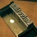 MoMA 115 Helvetica metal type