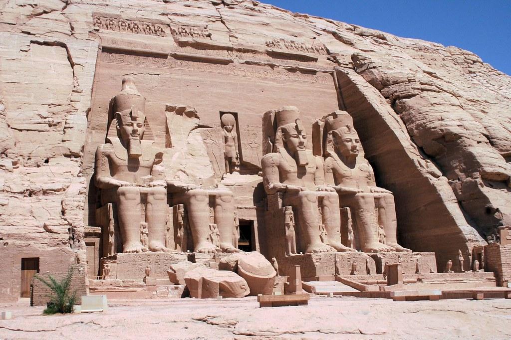 Abu Simbel, Near Aswan, Egypt загрузить