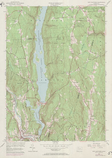 New Hartford Quadrangle 1971 - USGS Topographic Map 1:24,000 | by uconnlibrariesmagic