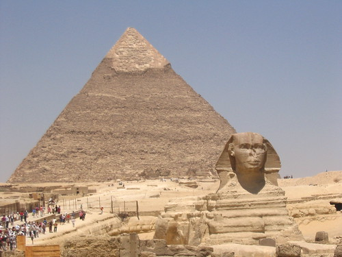 Pyramid & Sphinx of Khafre/Chefren in Giza Egypt | by Ankur P
