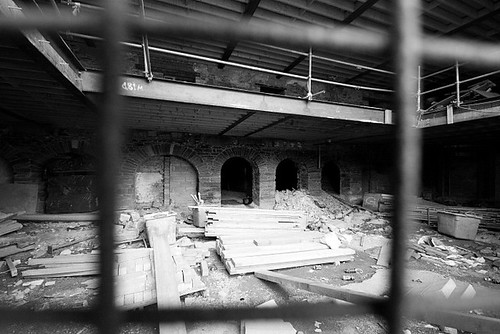 Construction in the old warehouse | by Donncha Ó Caoimh