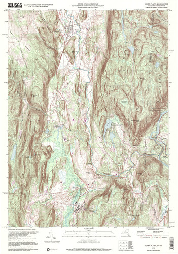 Dover Plains Quadrangle 1998 - USGS Topographic 1:24,000 | by uconnlibrariesmagic