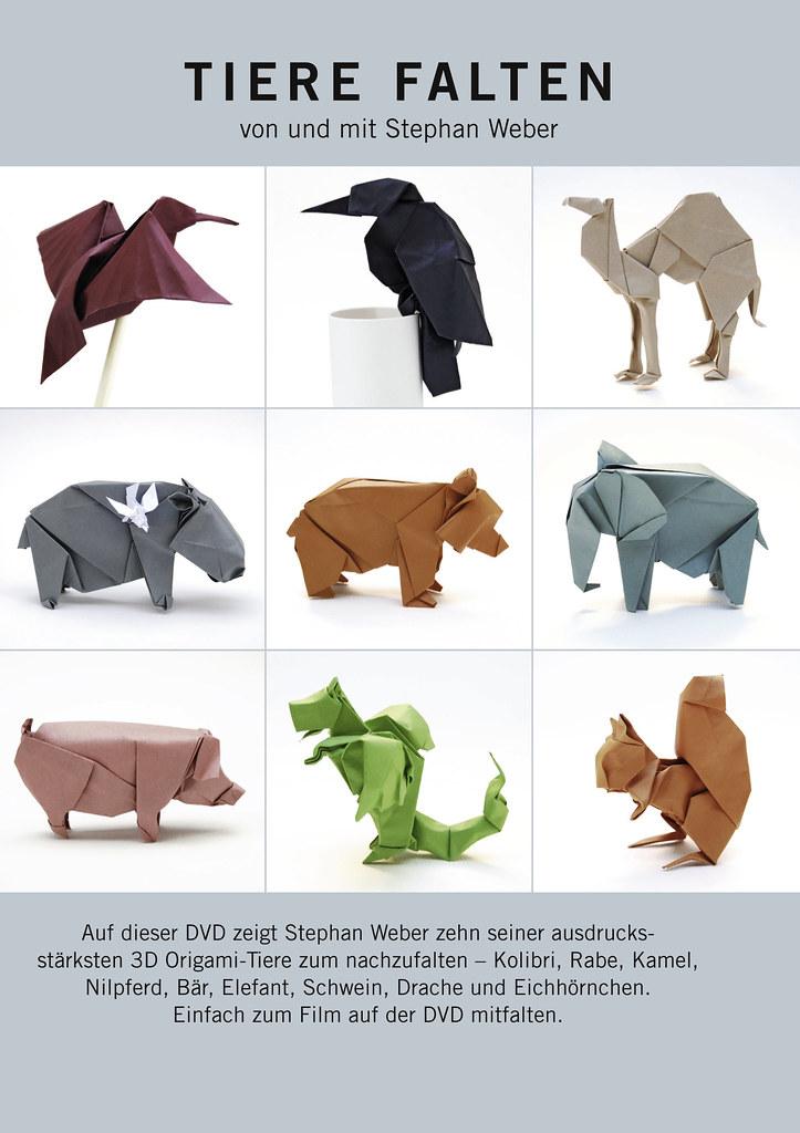 dvd animals stephan weber origami dvd animals stephan. Black Bedroom Furniture Sets. Home Design Ideas