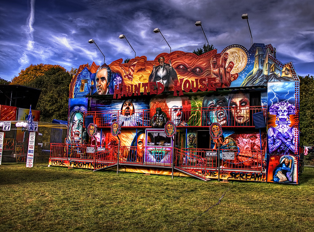 fun haunted houses