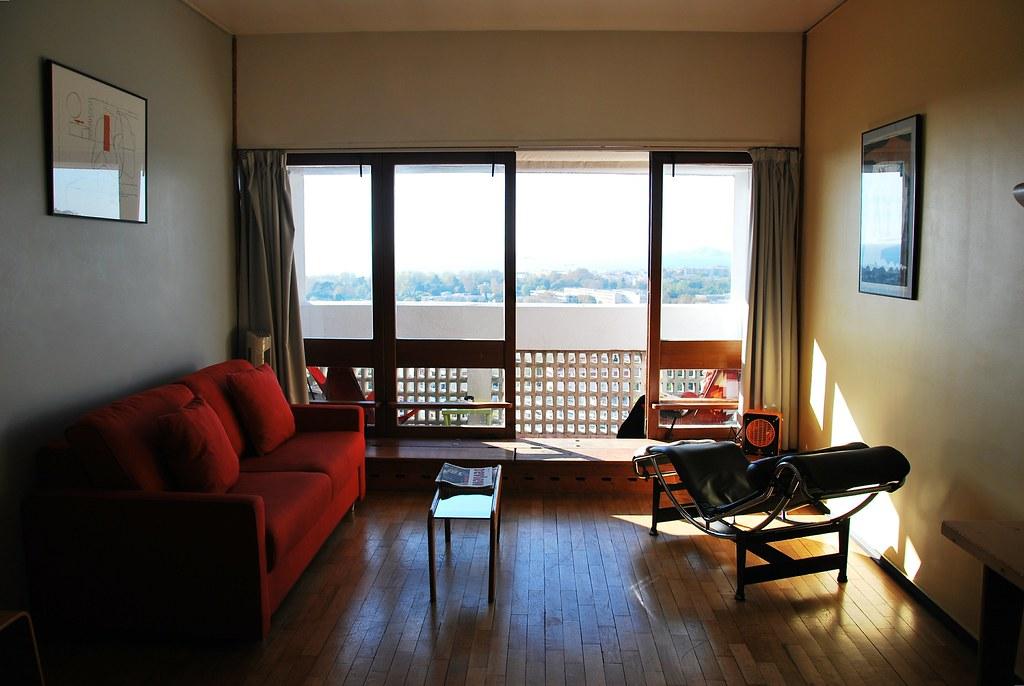 Le corbusier unit d 39 habitation marseille interior 18th flickr - Vente appartement le corbusier marseille ...