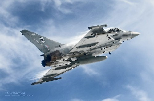Royal Air Force Typhoon Jet Fighter | by Defence Images