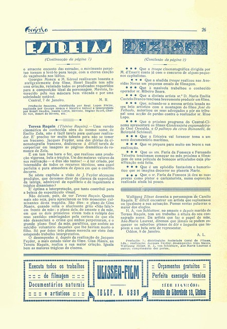 Cinéfilo, No. 73, January 11 1930 - 24