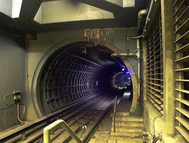 San Francisco Ca Bart Station Tunnel Andy Chapman