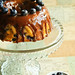 Blueberry Buttermilk Cake with Milk Chocolate Honey Ganache