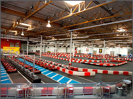 K1 speed indoor go kart racing carlsbad track starting gri flickr