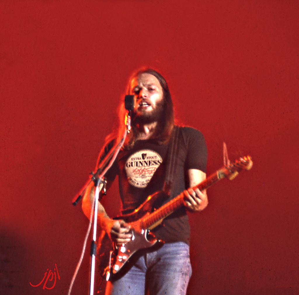 David Gilmour S Singing Dog