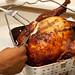 Carving a deep fried turkey