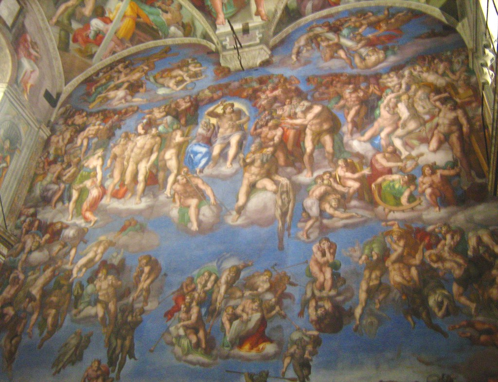 Michelangelo's Last Judgement | The Sistine Chapel is most ...