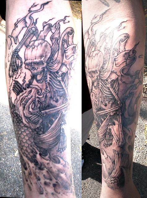 Lower Tattoo Sleeve: Half-Sleeve Forearm Progress!